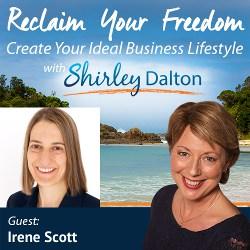 SD #076 – ENCORE: Quadruple Your Business Hot Leads | Irene Scott