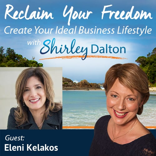 SD #050:  How to Develop Your Leadership Presence and Be More Real and Relatable in Your Meetings and Presentations | Eleni Kelakos