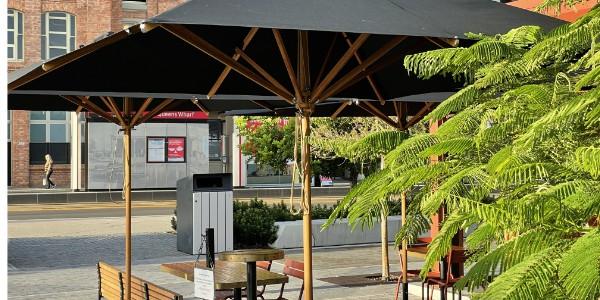 WT 557 Sit under the umbrella