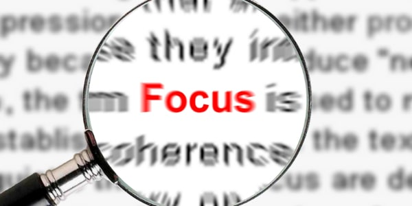 WT 579 Careful what you focus on