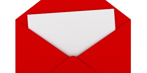 WT 589 Put it in an envelope